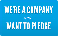 Take the Pledge as a company